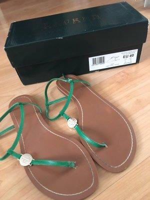 Sandalen Ralph Lauren grün