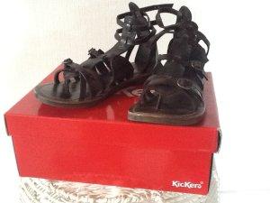 Kickers Roman Sandals multicolored leather