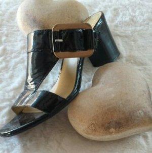 Sandalen / Sandalette Lloyd schwarz Lackleder