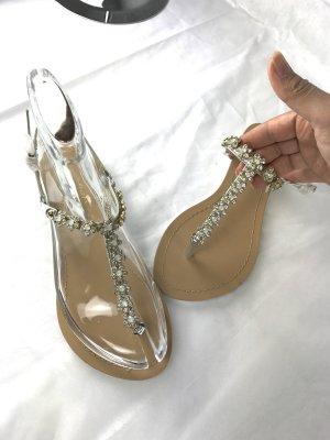 Sandalen Sandaletten Größe 36 mit Strass