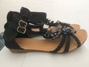 Sandalen / Sandaletten von Queentina  - Gr. 38