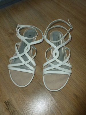 Tamaris Strapped Sandals white