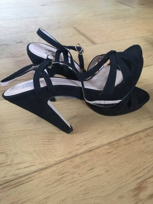 Sandalo con cinturino nero