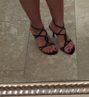Sandalen schwarz von Buffalo Gr. 37