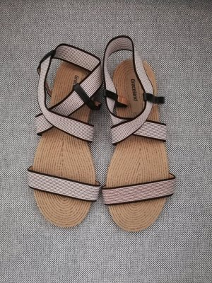 Graceland Beach Sandals black-beige
