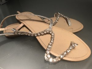 Roman Sandals silver-colored