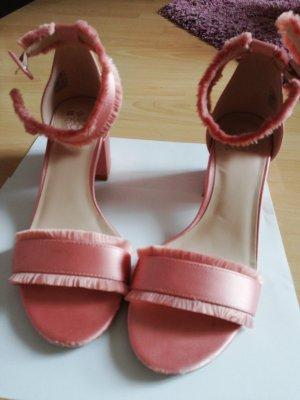 Sandalen, Tanzschuhe, Blockabsatz, Gr. 40