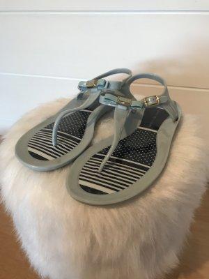 Tommy Hilfiger Toe-Post sandals baby blue-azure