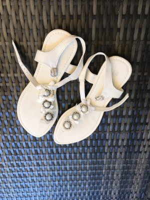Strapped Sandals white
