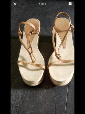 Armani Platform Sandals multicolored