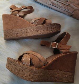 5th Avenue Sandals bronze-colored