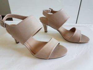 Anna Field High-Heeled Sandals nude