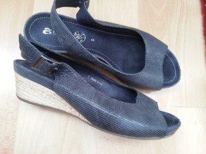 ara Sandalo comodo grigio scuro-blu scuro