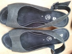 Sandalen von Ara Gr5,5, dunkelgrau