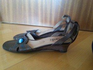 Sandalen von Caprice, braun, Größe 39 (UK 6), Leder