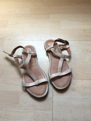 Sandalen von CLARKS in beige