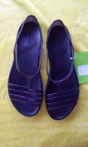 Crocs Sandalo con cinturino nero Materiale sintetico