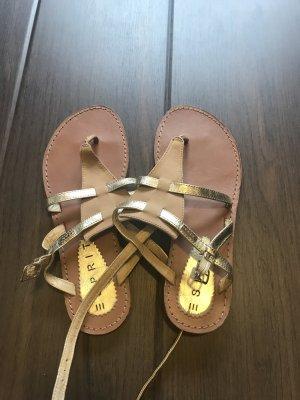 Sandalen von Esprit , in Beige / Gold in Größe 38