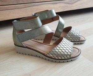 Gabor Comfort Sandals gold-colored-khaki