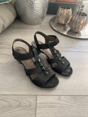 Gabor Comfortabele sandalen zwart
