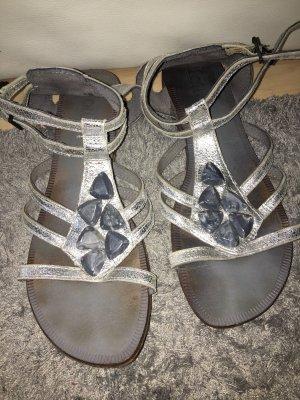 Lotus Sandalo con cinturino argento