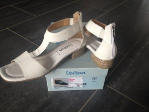Voltan Comfort Sandals white leather