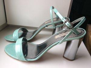Marc Jacobs Sandalo con cinturino argento-celeste
