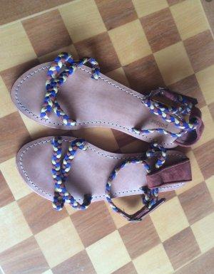 Sandalo Dianette multicolore Pelle