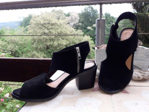 Zign Sandals black leather