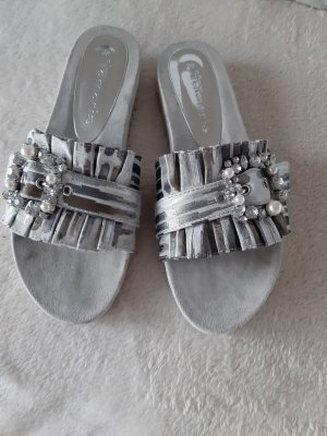 Tamaris Sandalias cómodas gris claro