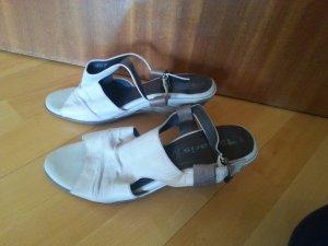 Sandalen von Tamaris, helllgrau, Größe 40, Leder
