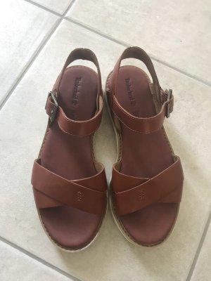 Timberland Comfortabele sandalen roodbruin