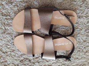 Tkmaxx Wedge Sandals bronze-colored