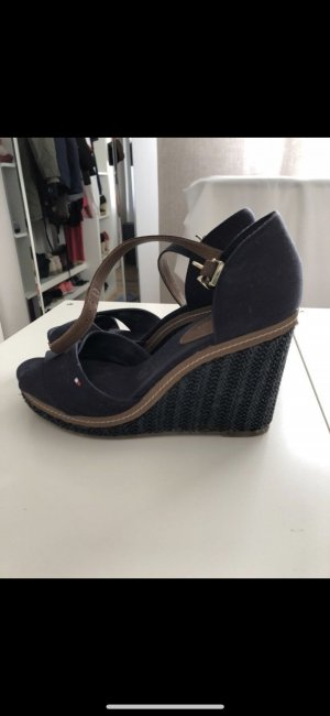 Tommy Hilfiger Platform High-Heeled Sandal dark blue