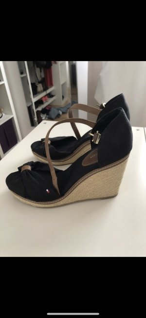 Tommy Hilfiger Platform High-Heeled Sandal black