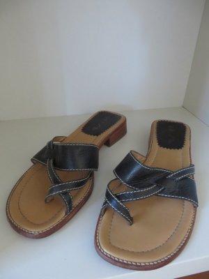 Sandalen von Unisa, schwarz, Gr. 38