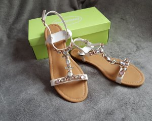 Graceland Strapped Sandals multicolored imitation leather