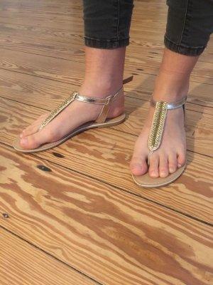 Sandalen Zehentrenner  Perlen Atmosphere