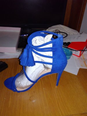 High Heel Sandal blue