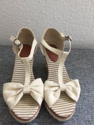 Wedge Sandals cream