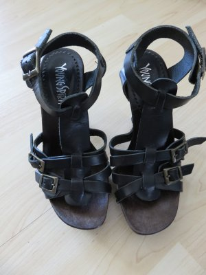 Young Spirit High Heel Sandal black-brown