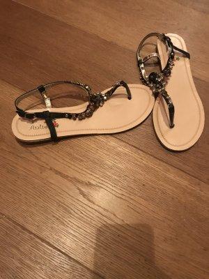 Sandalette Glitzer