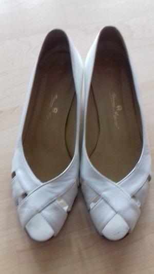Sandalette Gr.38,5 weiß/eierschalenfarbig Etienne Aigner