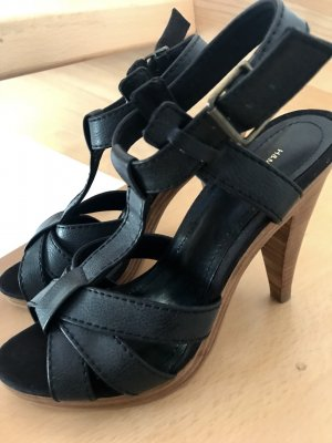 Sandalette Gr. 39 Sandalen Pumps schwarz H&M