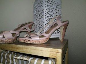 Sandalette Größe 38 rosa
