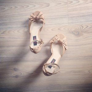 Sandalette HighHeel ++ only Replay Graceland nude Rockabilly Pumps