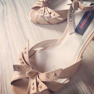 Sandalette HighHeel +++ Replay Graceland nude Rockabilly Gothik