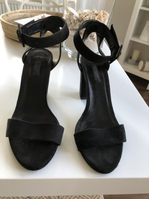 Zara Woman High Heel Sandal black