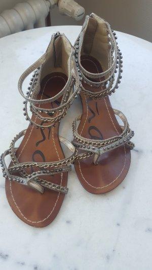 Sandalette Keilabsatz 39 Echtleder Piudi Servas