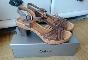 Sandalette Kork Leder - G super bequem